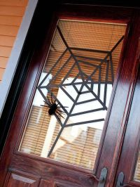 Halloween Spider Web Door Decorations