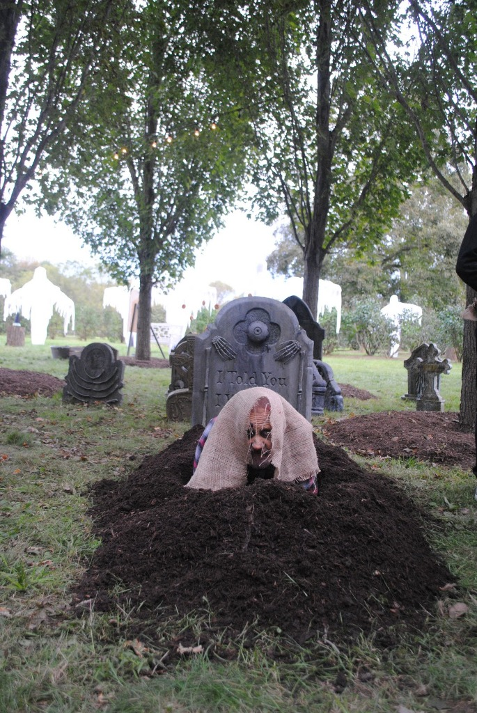 Graveyards Outdoor Halloween Decorations  Decoration Love