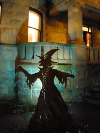 Outdoor Halloween Decorations Witches