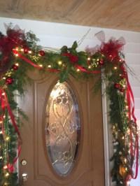 Pinterest Christmas Door Garland Decorations