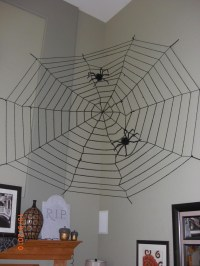 Spider Web Halloween Decorations