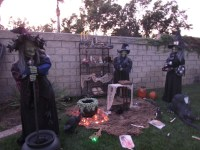 Witch Outdoor Halloween Decorations - Decoration Love
