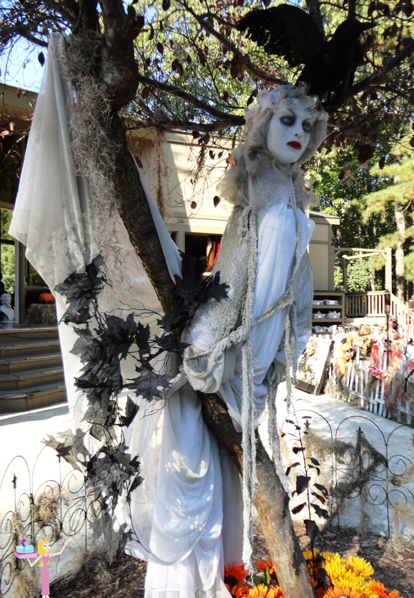 kitchen backyard design cabinets wholesale woman ghost tree halloween decor