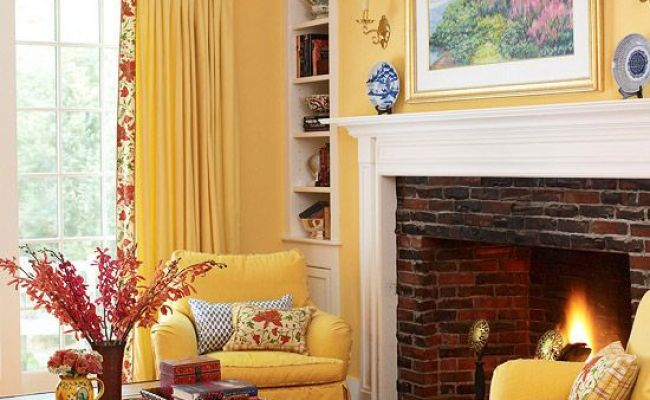 28 Yellow Living Room Decorating Ideas Decoration Love