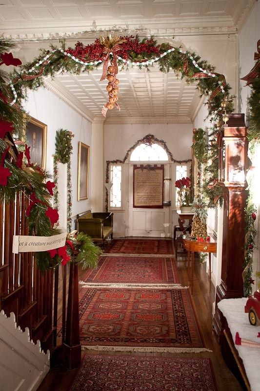 Christmas Decorating Ideas For Inside The House Elitflat