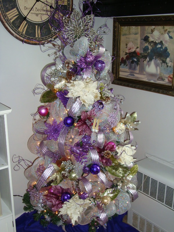 35 Purple Christmas Tree Decorations Ideas You Cant Miss  Decoration Love