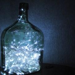 Decorations For Living Room Ideas Design Hardwood Floors Christmas-lights-in-glass-bottles