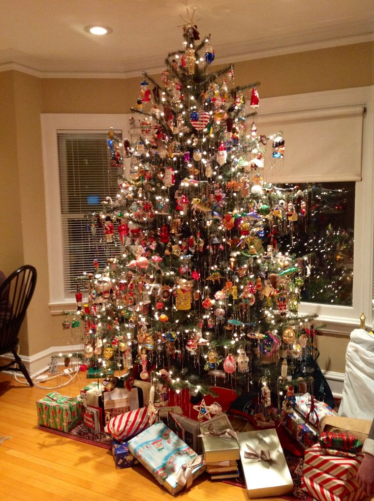 45 Classic Christmas Tree Decorations Ideas  Decoration Love