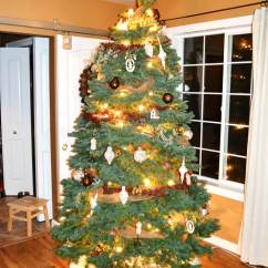 Christmas Decoration Ideas For Small Living Room Casual Coastal Furniture Country-christmas-tree-2016