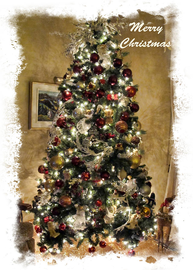 Old Fashioned Christmas Tree Design