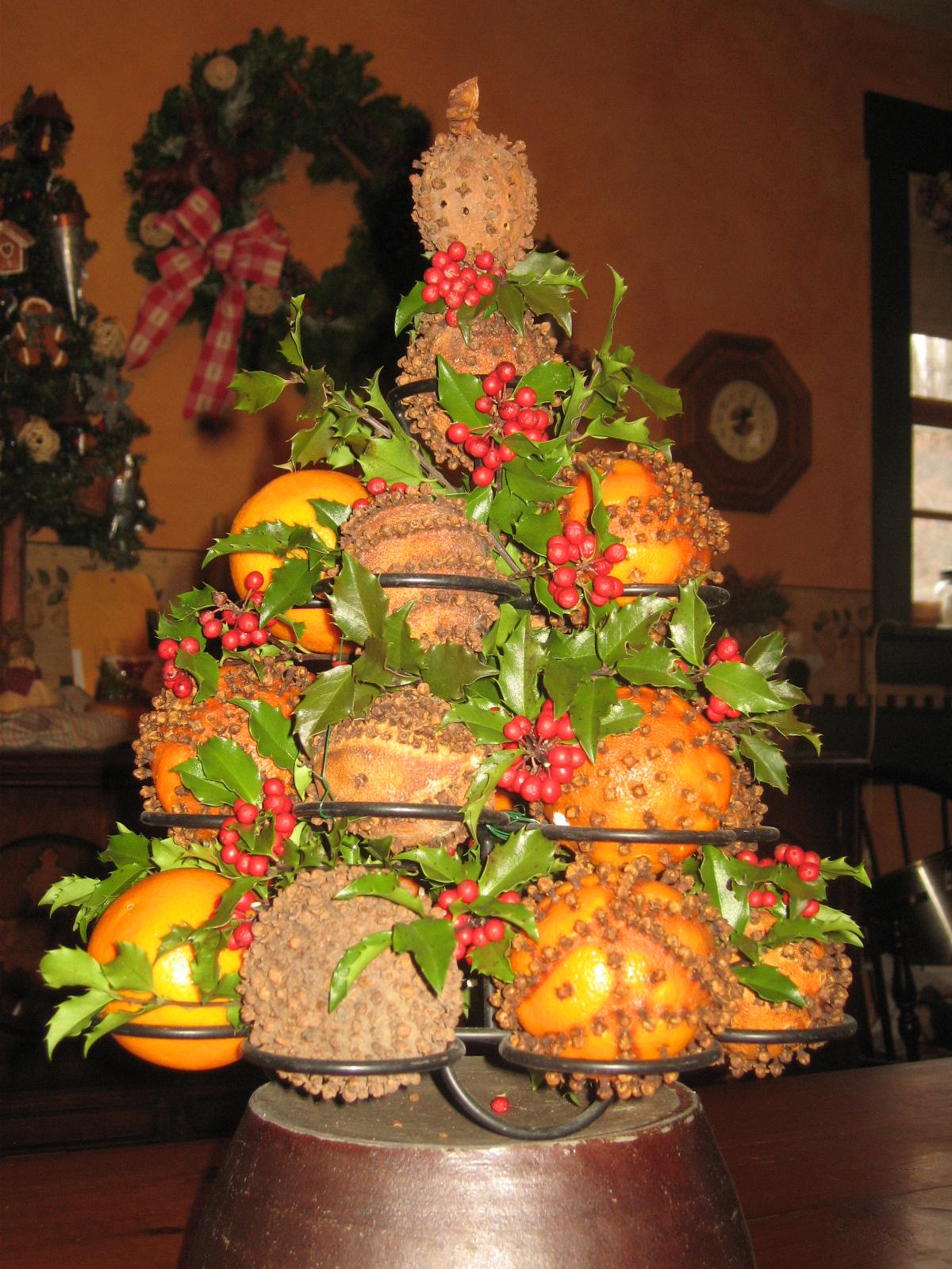 35 Orange Theme Christmas Tree Decorations Ideas  Decoration Love