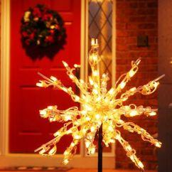 Living Room Interior Design Ideas Uk Dining Kitchen Color Schemes Outdoor-led-christmas-starburst-lights