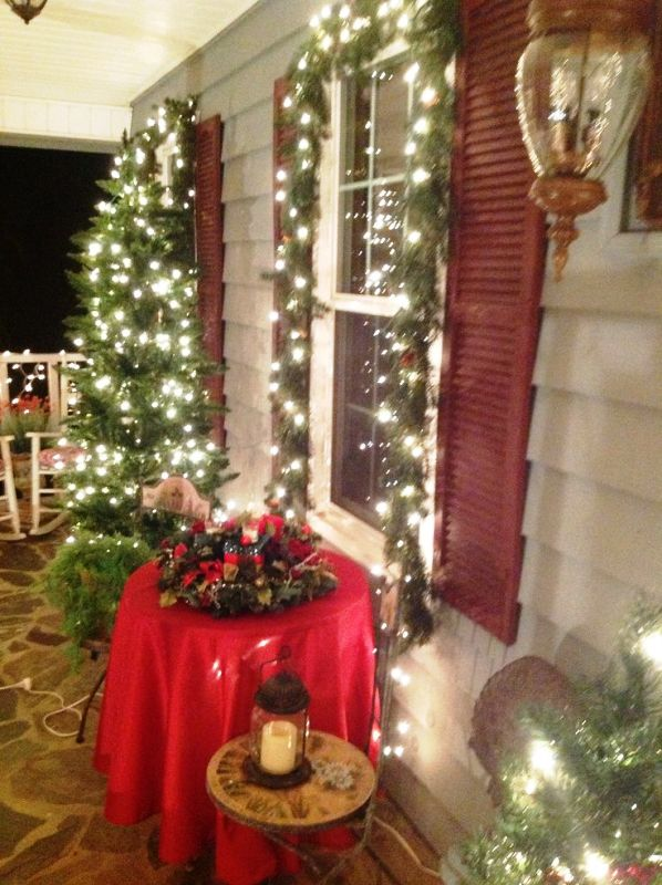 30 Christmas Lights Decorations Ideas For Porch  Decoration Love