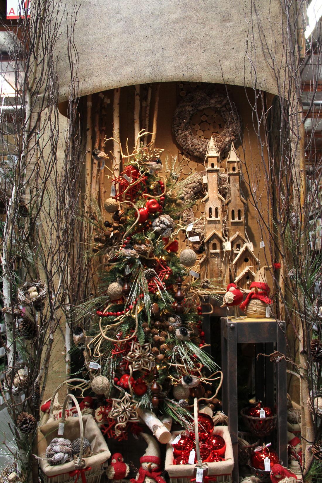 Rustic Christmas Display