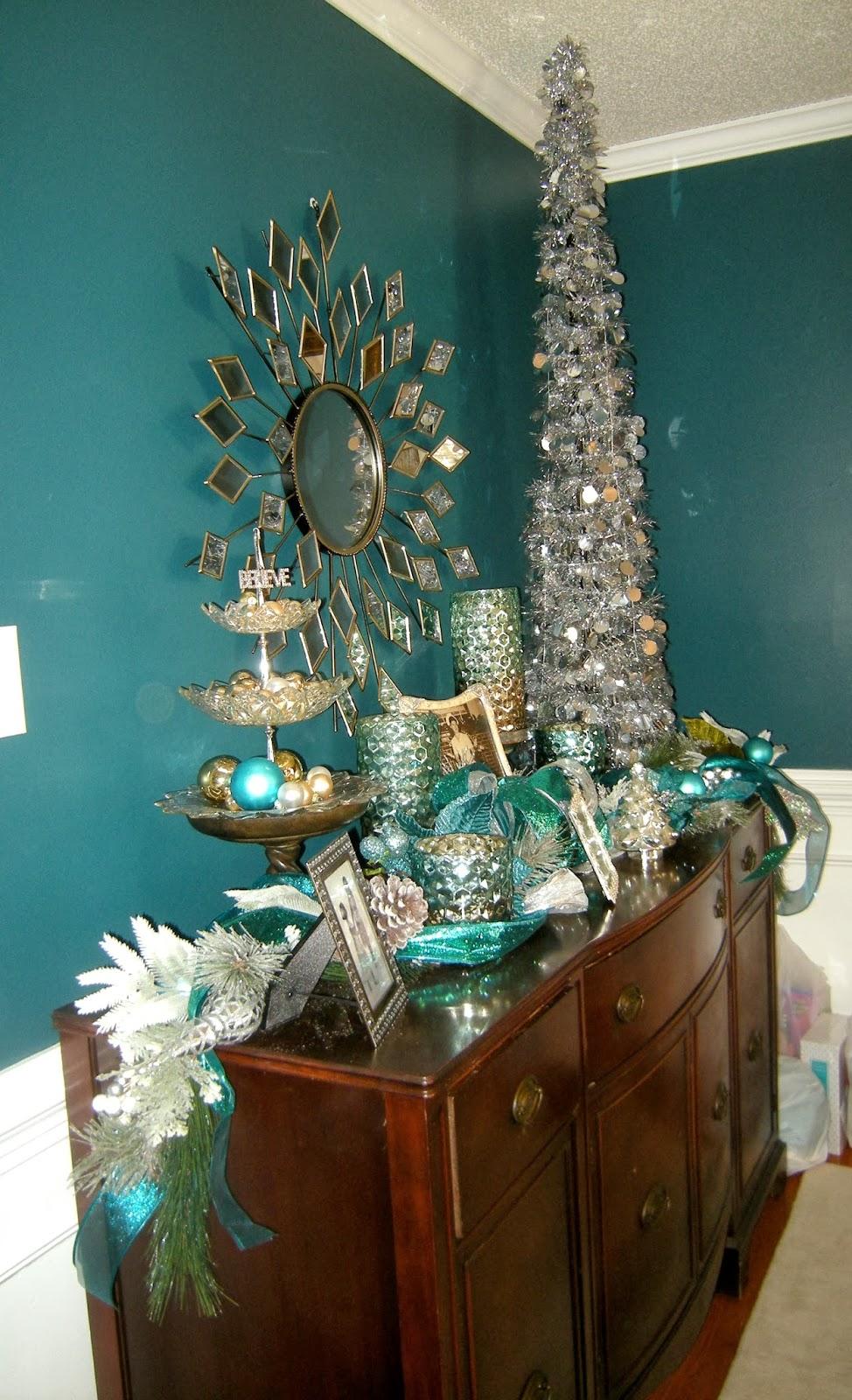 38 Teal Christmas Tree Decorations Ideas  Decoration Love
