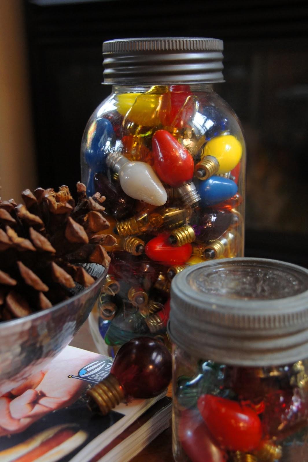 40 Christmas  Holiday Decorating with Mason Jars  Decoration Love