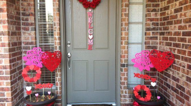 25 Outdoor Valentines Decorations Ideas Decoration Love