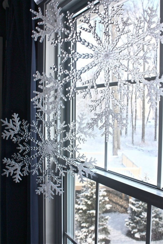 25 Indoor Christmas Window Decorations Ideas  Decoration Love