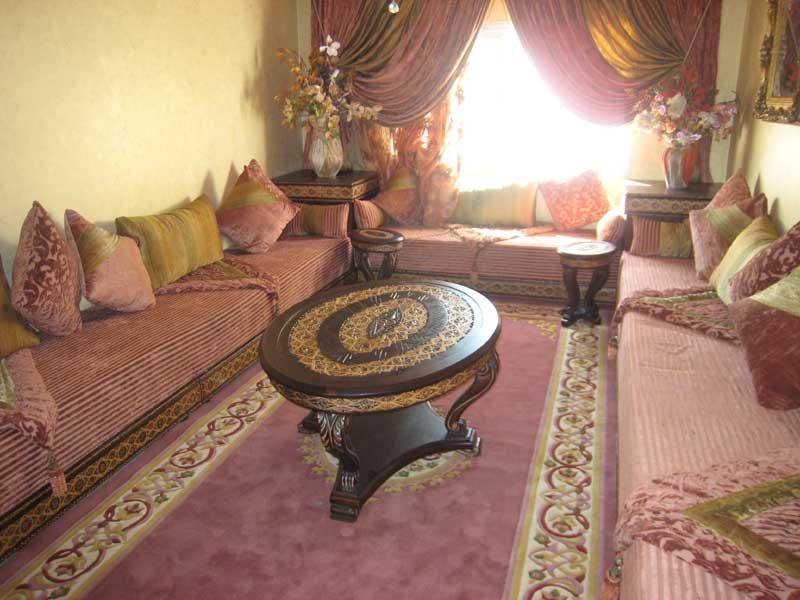 salon marocain  decoration salon marocain