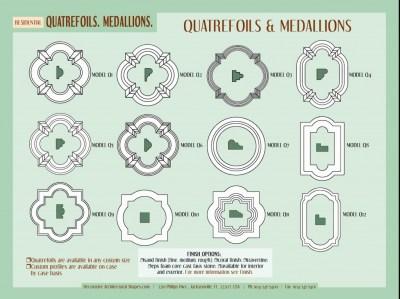 RESIDENTIAL-Quatrefoils,medallions