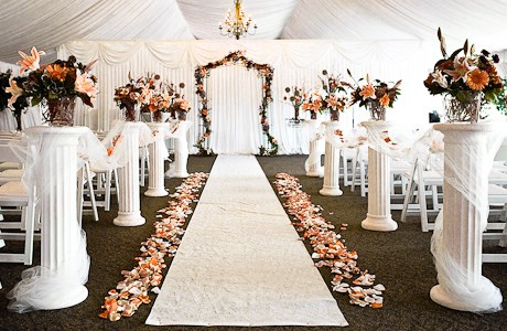Wedding Colonnades & Arches