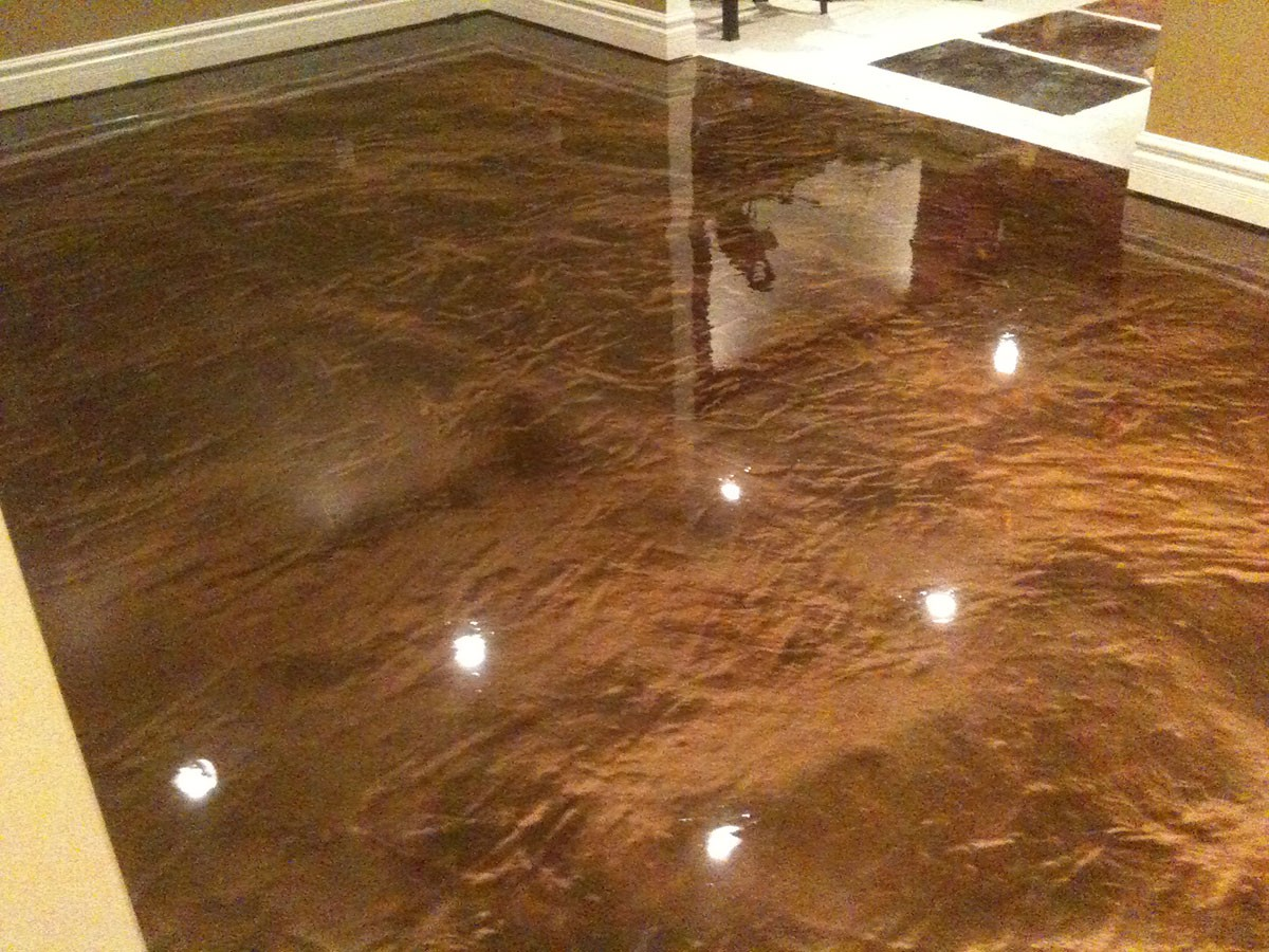 Epoxy Floor Systems  Decorative Concrete Inc