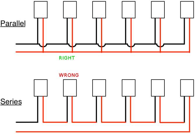 led parallel wiring diagram  ford f250 seat wiring diagram