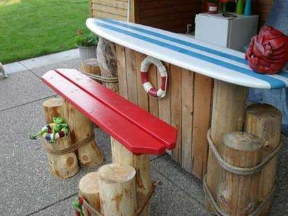 DIY OUTDOOR BAR IDEAS 10
