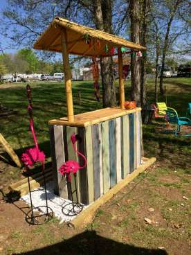 DIY OUTDOOR BAR IDEAS 20