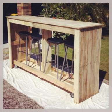 DIY OUTDOOR BAR IDEAS 29
