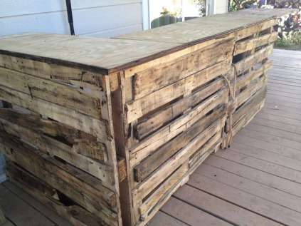 DIY OUTDOOR BAR IDEAS 38