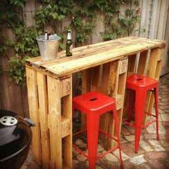 DIY OUTDOOR BAR IDEAS 46