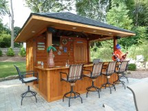 Backyard Outdoor Pool Bar Ideas