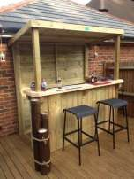 DIY OUTDOOR BAR IDEAS 69