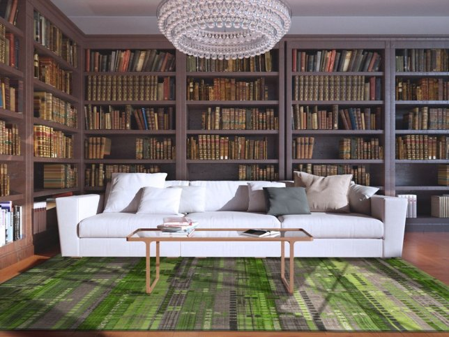 Classic Living Room Library