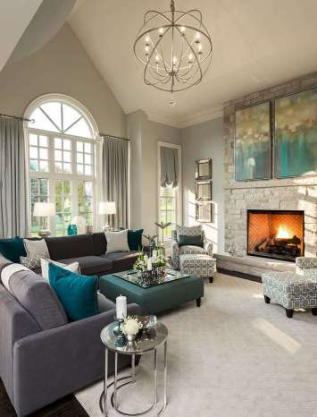 FAMILY ROOMS DECORATING IDEAS 97