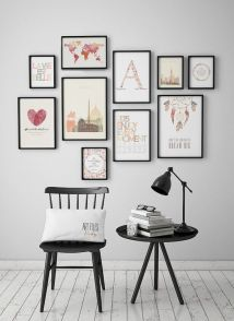 50 Stunning Photo Wall Gallery Ideas 18