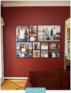 50 Stunning Photo Wall Gallery Ideas 19
