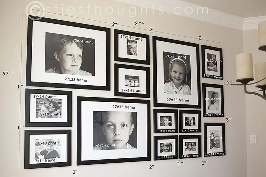 50 Stunning Photo Wall Gallery Ideas 24