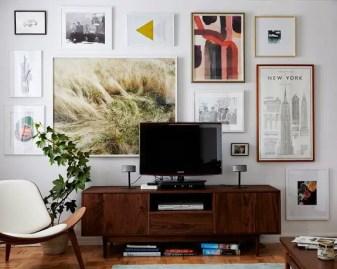 50 Stunning Photo Wall Gallery Ideas 25