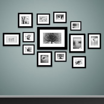 50 Stunning Photo Wall Gallery Ideas 35