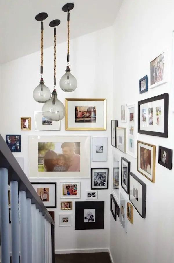 50 Stunning Photo Wall Gallery Ideas 36