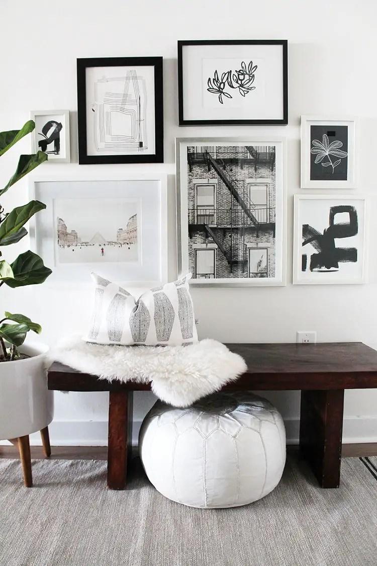 50 Stunning Photo Wall Gallery Ideas 4