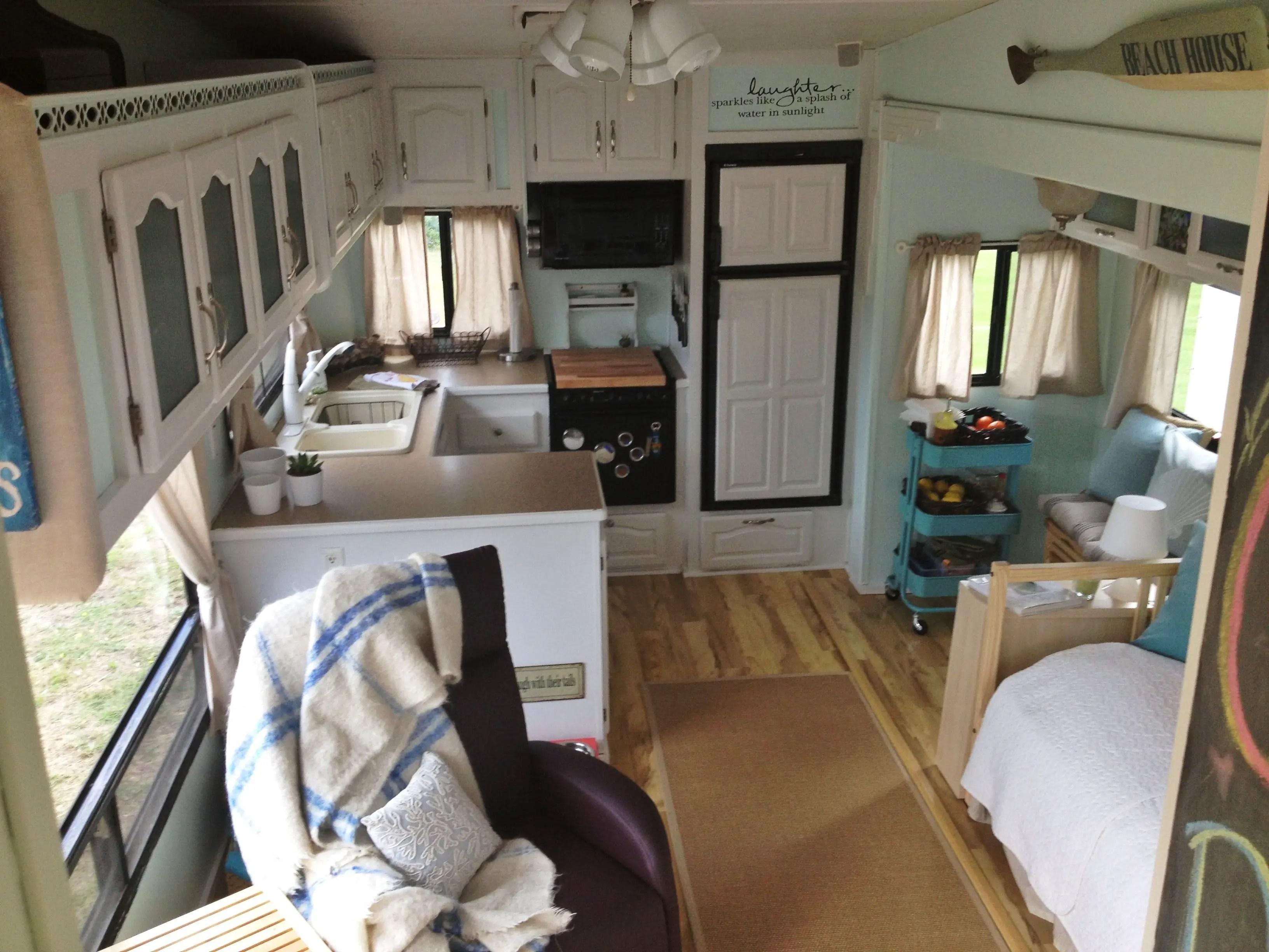 30 amazing design camper remodels