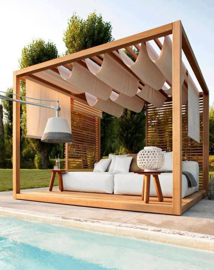 Awesome Modern Pergola Design Ideas19