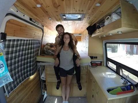 Badass DIY Camper Van Inspiration 20