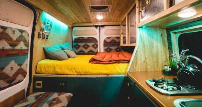 Badass DIY Camper Van Inspiration 29
