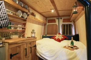 Badass DIY Camper Van Inspiration 35