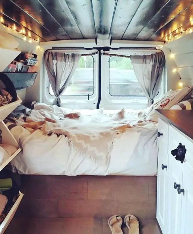 Badass DIY Camper Van Inspiration 43