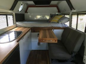 Badass DIY Camper Van Inspiration 50